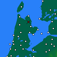 Nearby Forecast Locations - Wieringerwerf - Map