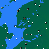 Nearby Forecast Locations - Sneek - Map