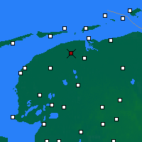 Nearby Forecast Locations - Dokkum - Map