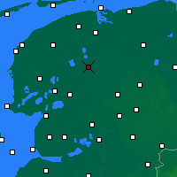 Nearby Forecast Locations - Drachten - Map