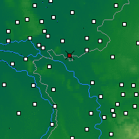 Nearby Forecast Locations - Gendringen - Map