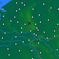 Nearby Forecast Locations - Hoenderloo - Map