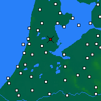 Nearby Forecast Locations - Purmerend - Map