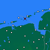 Nearby Forecast Locations - Rottumeroog - Map