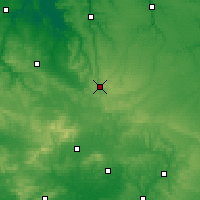 Nearby Forecast Locations - Gacé - Map