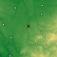 Nearby Forecast Locations - L'Isle-Jourdain - Map