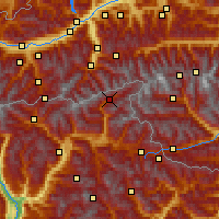 Nearby Forecast Locations - Ahrntal - Map