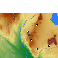 Nearby Forecast Locations - Blantyre - Map