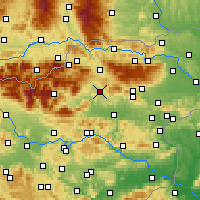 Nearby Forecast Locations - Velenje - Map