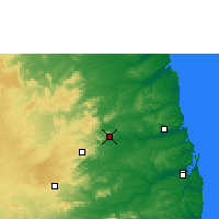 Nearby Forecast Locations - Guarabira - Map