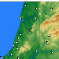 Nearby Forecast Locations - Pombal - Map