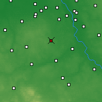 Nearby Forecast Locations - Grójec - Map
