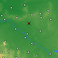 Nearby Forecast Locations - Oleśnica - Map