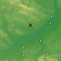 Nearby Forecast Locations - Staszów - Map