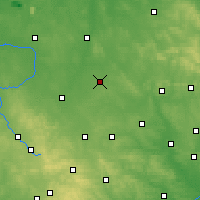 Nearby Forecast Locations - Włoszczowa - Map