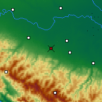 Nearby Forecast Locations - Reggio Emilia - Map