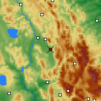 Nearby Forecast Locations - Foligno - Map