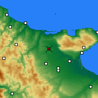Nearby Forecast Locations - San Severo - Map