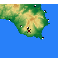 Nearby Forecast Locations - Modica - Map
