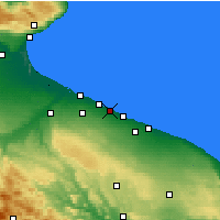 Nearby Forecast Locations - Bisceglie - Map