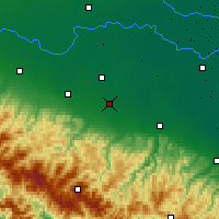 Nearby Forecast Locations - Modena - Map
