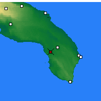 Nearby Forecast Locations - Nardò - Map