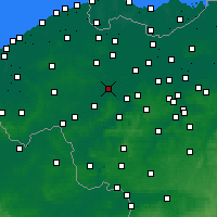 Nearby Forecast Locations - Deinze - Map