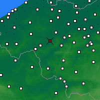 Nearby Forecast Locations - Waregem - Map