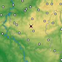 Nearby Forecast Locations - Libramont-Chevigny - Map