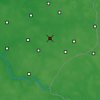 Nearby Forecast Locations - Bielsk Podlaski - Map