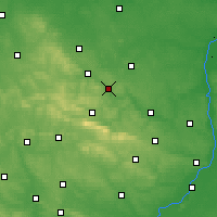 Nearby Forecast Locations - Starachowice - Map