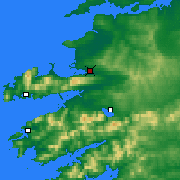 Nearby Forecast Locations - Tralee - Map