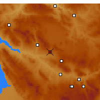 Nearby Forecast Locations - Mucur - Map