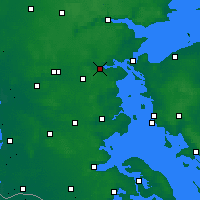 Nearby Forecast Locations - Kolding - Map