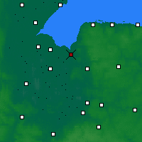 Nearby Forecast Locations - King's Lynn - Map