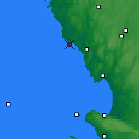 Nearby Forecast Locations - Falkenberg - Map