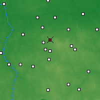 Nearby Forecast Locations - Zgierz - Map