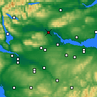 Nearby Forecast Locations - Stirling - Map