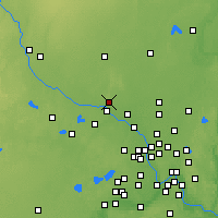 Nearby Forecast Locations - Elk River - Map