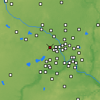 Nearby Forecast Locations - Maple Grove - Map