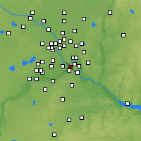 Nearby Forecast Locations - Mendota Heights - Map