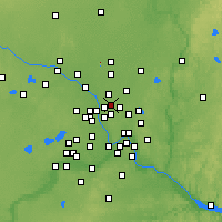 Nearby Forecast Locations - Mounds View - Map