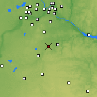 Nearby Forecast Locations - Northfield - Map