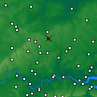 Nearby Forecast Locations - Stevenage - Map