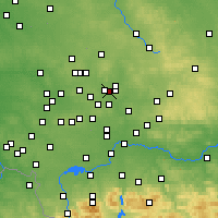 Nearby Forecast Locations - Będzin - Map