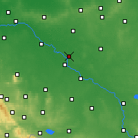 Nearby Forecast Locations - Jelcz-Laskowice - Map