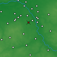 Nearby Forecast Locations - Piaseczno - Map