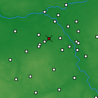 Nearby Forecast Locations - Pruszków - Map