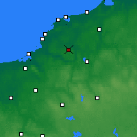 Nearby Forecast Locations - Sławno - Map