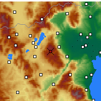 Nearby Forecast Locations - Vermio - Seli - Map